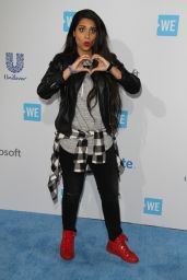 Lilly Singh – WE Day California 2016 in Inglewood, CA