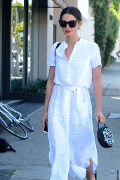 Lily Aldridge Style - Out in Los Angeles 4/5/2016
