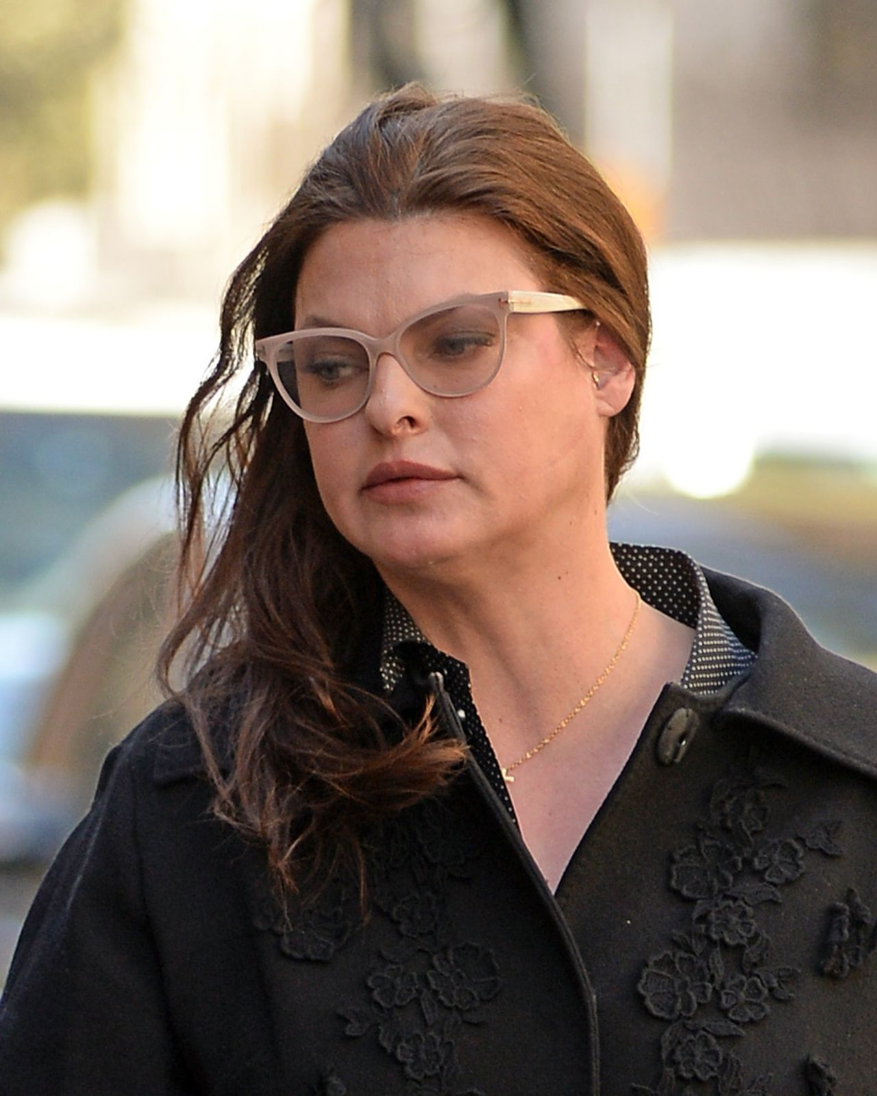 Linda Evangelista Nearly Unrecognizable Out The West