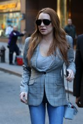 Lindsay Lohan - Out in New York City 4/16/2016