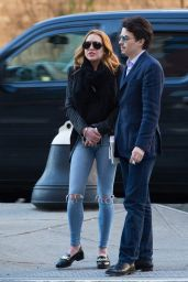 Lindsay Lohan -Out in New York City, NY 4/14/2016