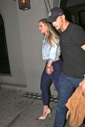 Lindsey Vonn at Craigs Restaurant in West Hollywood 4/9/2016
