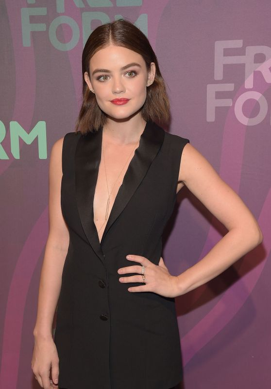 Lucy Hale – 2016 ABC Freeform Upfront in New York City, NY