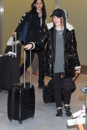 Maisie Williams - Arriving in Tokyo, Japan 4/18/2016