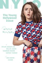 Maisie Williams - Nylon Magazine May 2016 Cover and Pics