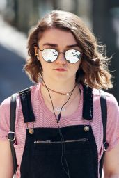 Maisie Williams - Out in New York City 4/16/2016