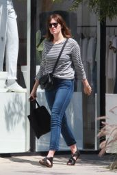Mandy Moore Street Style - Los Angeles 4/4/2016