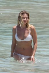 Margot Robbie in Bikini at St. Barts, April 2016