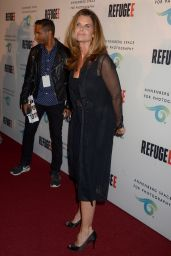 Maria Shriver - REFUGEE Exhibit at Annenberg Space For Photography in Century City, April 2016