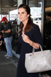 Maria Shriver Style - at LAX in Los Angeles, 4/18/2016