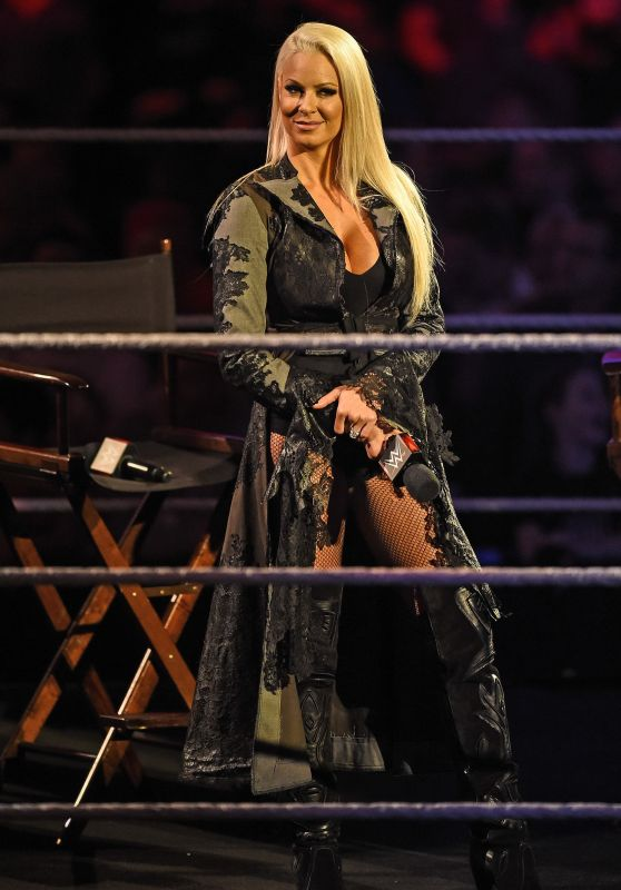 Maryse Ouellet Mizanin - WWE Smackdown at the o2 Arena in London 4/19/2016