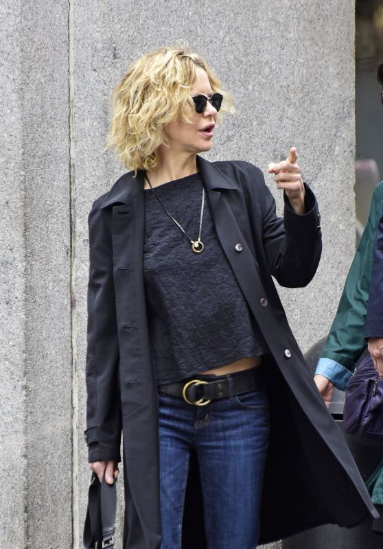 Meg Ryan Street Style - Out in New York City, April 2016