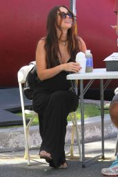 Megan Fox at the Farmers Market in Studio City 4/17/2016