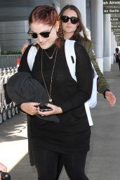Meghan Trainor - Departing Los Angeles International Airport 4/4/2016