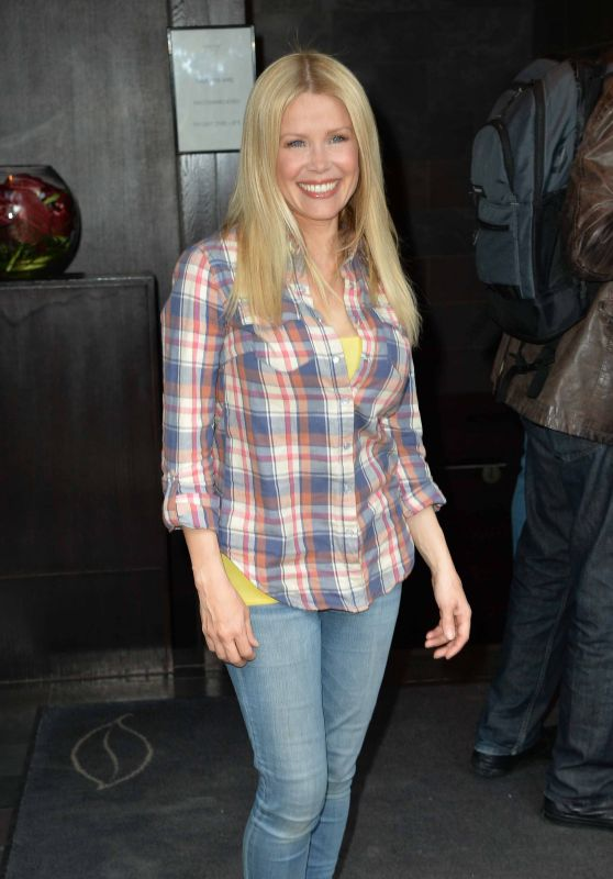Melinda Messenger – Attend the Launch of Rosina's Lotions and Potions in London, UK 4/5/2016