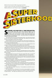 Melissa Benoist & Chyler Leigh - Emmy Magazine No3 2016