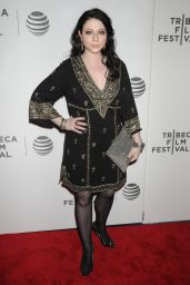Michelle Trachtenberg – 'Geezer' World Premiere at 2016 Tribeca Film Festival in New York City