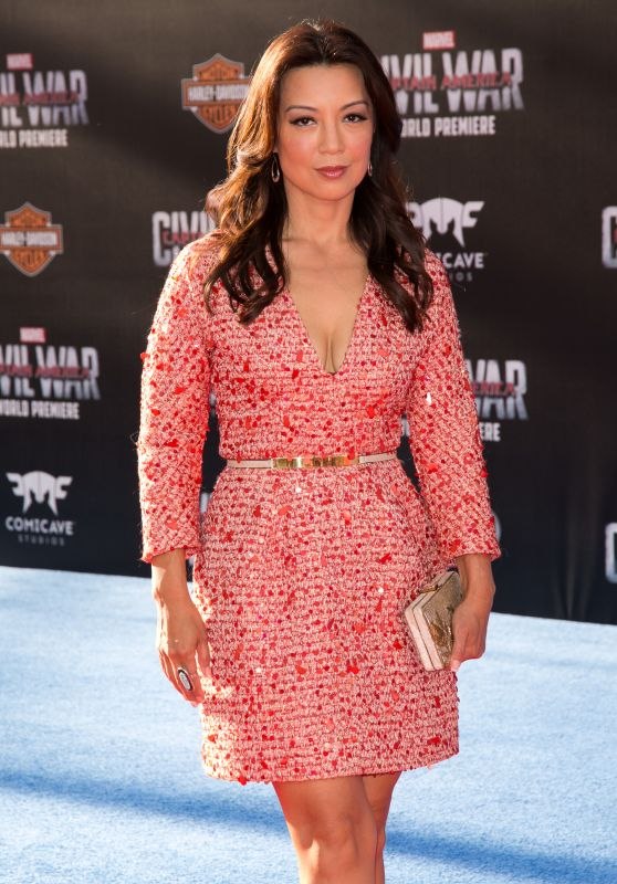 Ming-Na Wen – 'Captain America: Civil War' World Premiere at Dolby Theatre in Hollywood