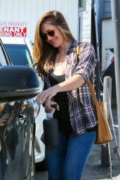 Minka Kelly - Meche Salon in Beverly Hills 4/27/2016