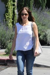 Minka Kelly - Out in Los Angeles 3/31/2016