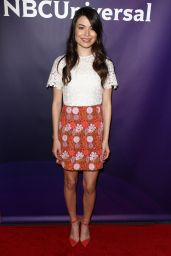 Miranda Cosgrove – NBCUniversal Summer Press Day in Westlake Village, CA 4/1/2016