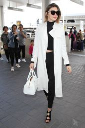 Miranda Kerr at LAX Airport in Los Angeles 4/11/2016
