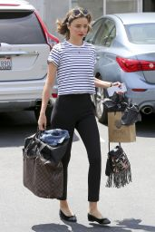 Miranda Kerr Spring Ideas - Out in Los Angeles, April 2016