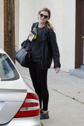 Mischa Barton at the DWTS Studios in Hollywood 3/30/2016