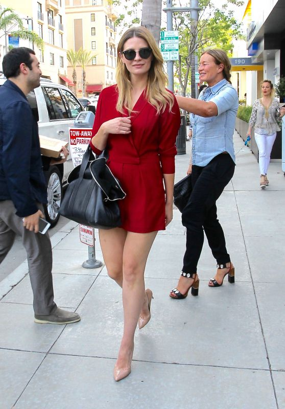 Mischa Barton Chic Outfit - Out in Beverly Hills 4/19/2016