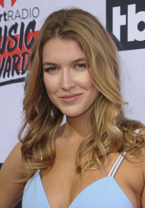 Nathalia Ramos – iHeartRadio Music Awards 2016 Red Carpet in Inglewood