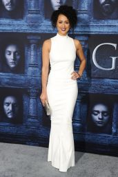 Nathalie Emmanuel – 'Game of Thrones' Season 6 Premiere in Los Angeles