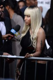 Nicki Minaj – BARBERSHOP: THE NEXT CUT Premiere in Hollywood