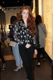 Nicola Roberts at Beyoncé Knowles x Topshop - Collection Launch Party in London, APril 2016