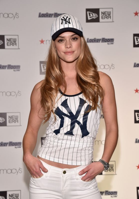 Nina Agdal - Locker Room by LIDS at Macy