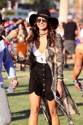 Nina Dobrev - The Coachella Valley Music and Arts Festival in Indio 4/16/2016