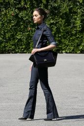 Olivia Culpo Chic Street Style - Out in Los Angeles 4/5/2016