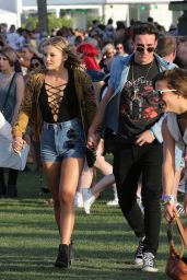 Olivia Holt at Coachella 2016 week 1 day 1 in Indio 4/15/2016