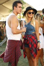 Olivia Holt at Coachella 2016 week 1 day 2 in Indio 4/16/2016