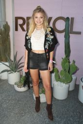 Olivia Holt – Revolve Desert House at Coachella 4/16/2016