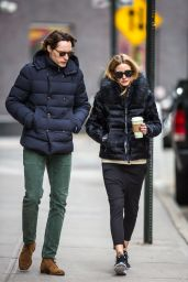 Olivia Palermo Casual Style - Out in New York 4/8/2016