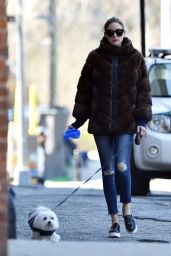 Olivia Palermo Street Style - Out in New York City 4/13/2016