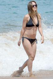 Olivia Wilde in a Bikini at a Beach in Hawaii 4/22/2016