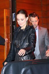 Olivia Wilde - Leaving 'The Devil and The Deep Blue Sea' Premiere Party in New York City