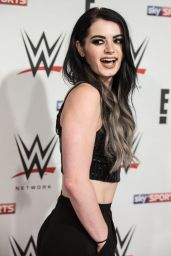 Paige - WWE Preshow Party at the O2 Arena in London 4/18/2016