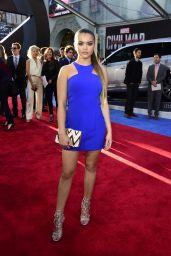 Paris Berelc – Marvel's 'Captain America: Civil War' Premiere in Los Angeles