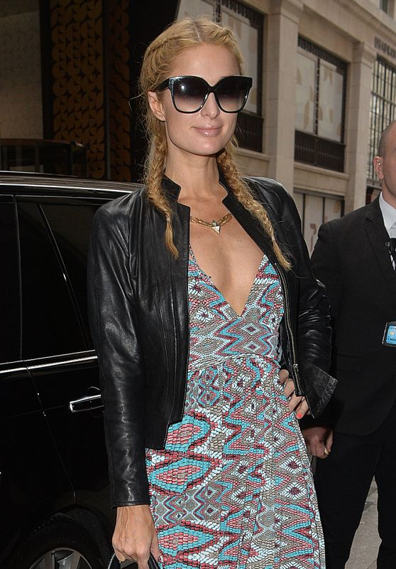 Paris Hilton - Out in Central London 4/26/2016