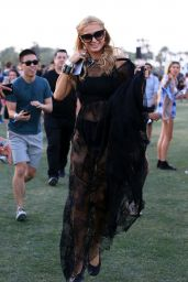 Paris Hilton – The Coachella Valley Music and Arts Festival 4/15/2016