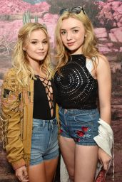 Peyton List - H&M Loves Coachella Pop UP at The Empire Polo Club in Indio 4/15/2016