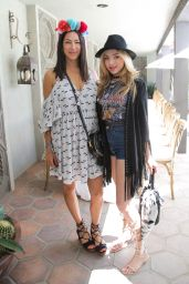 Peyton List - Rebecca Minkoff and Smashbox Lunch in Palm Springs 4/16/2016