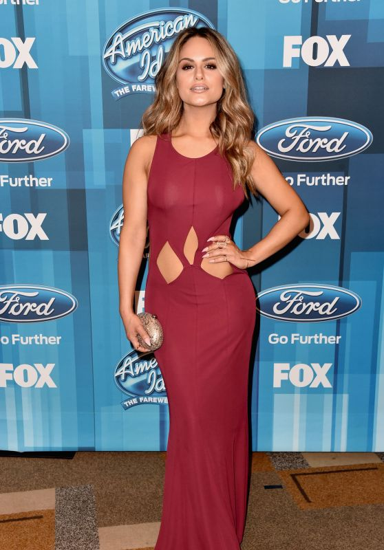 Pia Toscano - American Idol Finale For The Farewell Season in Hollywood, April 2016